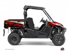 Graphic Kit UTV Wild Yamaha Viking Red