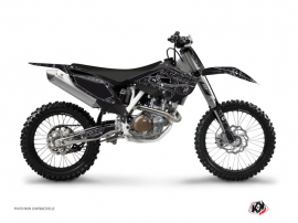 Graphic Kit Dirt Bike Zombies Dark Husqvarna TC 250 Black