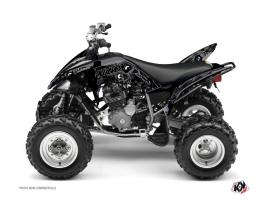 Yamaha 250 Raptor ATV ZOMBIES DARK Graphic kit Black