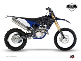 Sherco 250 SE R Dirt Bike ZOMBIES DARK Graphic kit Black LIGHT