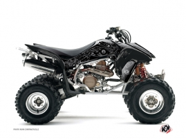 Graphic Kit ATV Zombies Dark Honda 250 TRX R Black