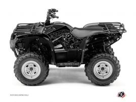 Graphic Kit ATV Zombies Dark Yamaha 350 Grizzly Black