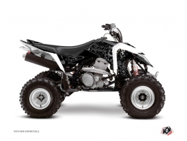 Graphic Kit ATV Zombies Dark Suzuki 400 LTZ IE Black