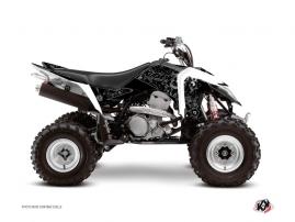 Suzuki 400 LTZ IE ATV ZOMBIES DARK Graphic kit Black