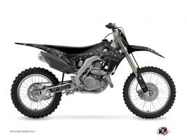 Graphic Kit Dirt Bike Zombies Dark Honda 450 CRF Black