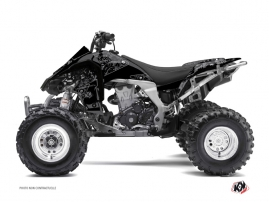 Kawasaki 450 KFX ATV ZOMBIES DARK Graphic kit Black