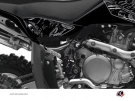 Graphic Kit Frame protection ATV Zombies Dark Suzuki 450 LTR Black