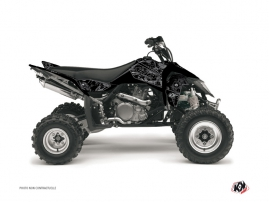 Graphic Kit ATV Zombies Dark Suzuki 450 LTR Black
