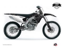 Suzuki 450 RMZ Dirt Bike ZOMBIES DARK Graphic kit Black LIGHT