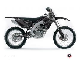 Suzuki 450 RMZ Dirt Bike ZOMBIES DARK Graphic kit Black