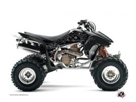 Graphic Kit ATV Zombies Dark Honda 450 TRX Black