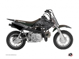 Graphic Kit Dirt Bike Zombies Dark Honda 50 CRF Black