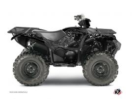 Yamaha 700-708 Grizzly ATV ZOMBIES DARK Graphic kit Black