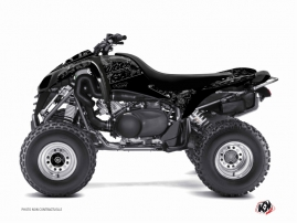 Kawasaki 700 KFX ATV ZOMBIES DARK Graphic kit Black