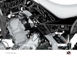 Graphic Kit Frame protection ATV Zombies Dark Yamaha 700 Raptor 2013-2016 Black