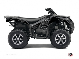Kawasaki 750 KVF ATV ZOMBIES DARK Graphic kit Black