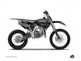 Graphic Kit Dirt Bike Zombies Dark Husqvarna TC 85 Black