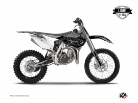Graphic Kit Dirt Bike Zombies Dark Husqvarna TC 85 Black LIGHT
