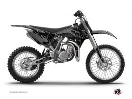 KTM 85 SX Dirt Bike ZOMBIES DARK Graphic kit Black