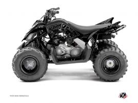 Yamaha 90 Raptor ATV ZOMBIES DARK Graphic kit Black