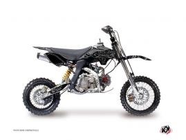 YCF F125 Dirt Bike ZOMBIES DARK Graphic kit Black