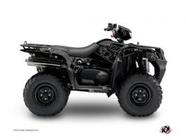 Suzuki King Quad 400 ATV ZOMBIES DARK Graphic kit Black