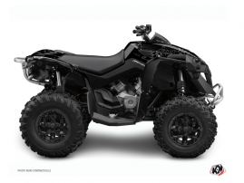 Graphic Kit ATV Zombies Dark Can Am Renegade Black