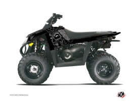 Polaris Scrambler 500 ATV ZOMBIES DARK Graphic kit Black