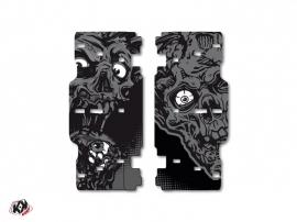 Graphic Kit Radiator guards Zombies Dark KTM SX-SXF 2015 Black