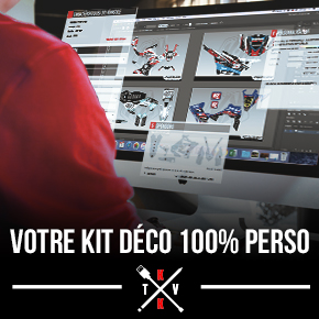 Kit Déco Moto Cross TM MX 530 FI 100% PERSO