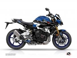 Yamaha MT 10 Street Bike Conquer Graphic Kit Blue