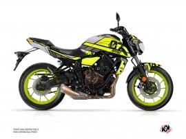 Yamaha MT 07 Street Bike Player Graphic Kit Yellow