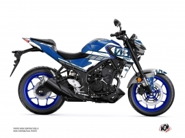 Yamaha MT 03 Street Bike Player Graphic Kit Blue