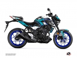 Yamaha MT 03 Street Bike Sanctuary Graphic Kit Blue