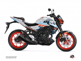 Yamaha MT 03 Street Bike Player Graphic Kit Grey