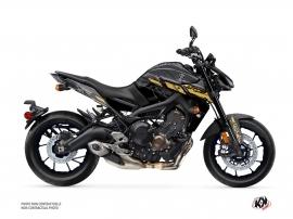 Kit Déco Moto Channel Yamaha MT 09 Noir