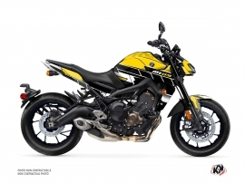 Kit Déco Moto Conquer Yamaha MT 09 Noir