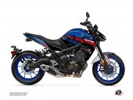 Kit Déco Moto Channel Yamaha MT 09 Bleu