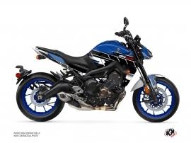 Kit Déco Moto Conquer Yamaha MT 09 Bleu