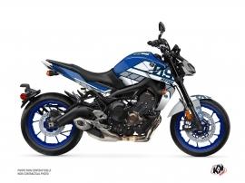 Kit Déco Moto Player Yamaha MT 09 Bleu