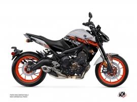 Kit Déco Moto Channel Yamaha MT 09 Gris
