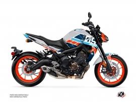 Kit Déco Moto Player Yamaha MT 09 Gris