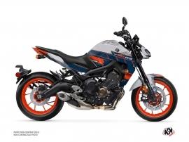 Kit Déco Moto Conquer Yamaha MT 09 Gris