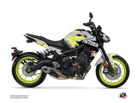 Kit Déco Moto Sanctuary Yamaha MT 09 Jaune