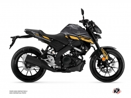 Kit Déco Moto Channel Yamaha MT 125 Noir