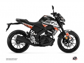 Kit Déco Moto Player Yamaha MT 125 Noir