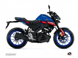 Kit Déco Moto Channel Yamaha MT 125 Bleu
