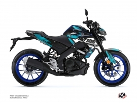 Kit Déco Moto Sanctuary Yamaha MT 125 Bleu