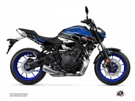 Yamaha MT 07 Street Bike Conquer Graphic Kit Blue