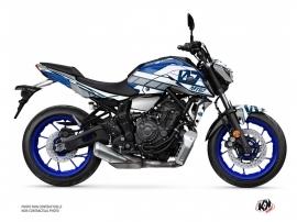 Yamaha MT 07 Street Bike Player Graphic Kit Blue
